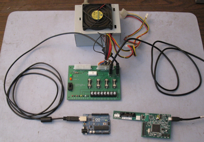 Use a PC Power Supply as a Bench Supply with the ATX PS Adapter